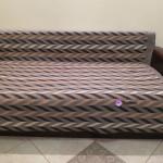 """Одеяло шерстяное """"Зигзаг"""" разноцветное 140x205 см"""